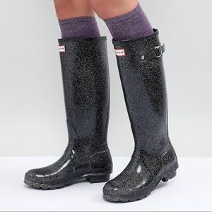 Hunter Rain Boots - Like New!!